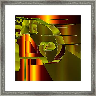 Atonic Framed Print by Elsbeth Lane