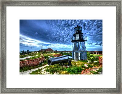 Atop Fort Jefferson Framed Print by Don Mercer