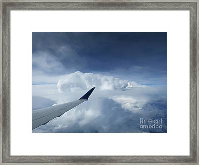 Atop The Clouds Framed Print by Ann Horn