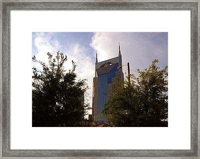 Att And Batman Are The Same Framed Print by Susanne Van Hulst