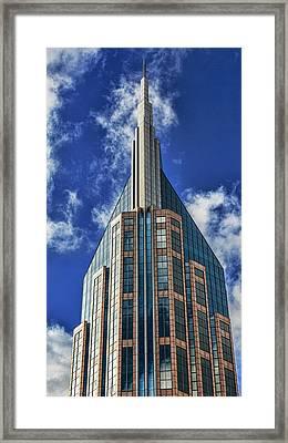 Framed Print featuring the photograph Att Nashville by Stephen Stookey