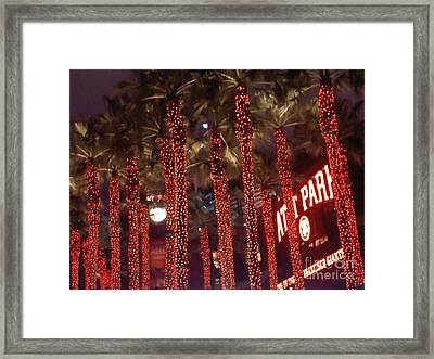 Att Park Framed Print