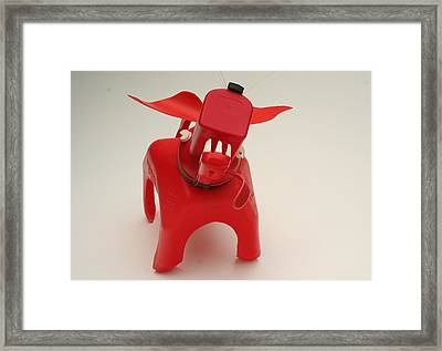 Attack Dog Framed Print by Michael Jude Russo