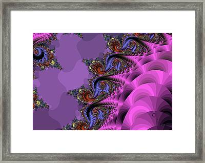 Attack Of The Magic Triapus Framed Print