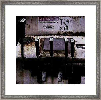 Framed Print featuring the photograph Attention by Cyryn Fyrcyd