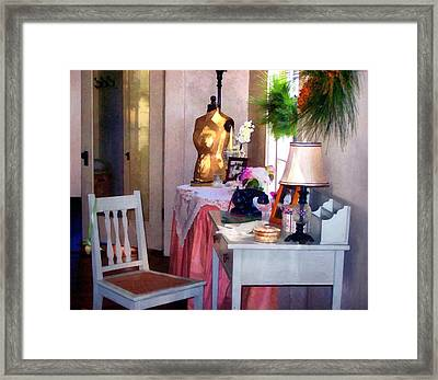 Attic Treasures Framed Print