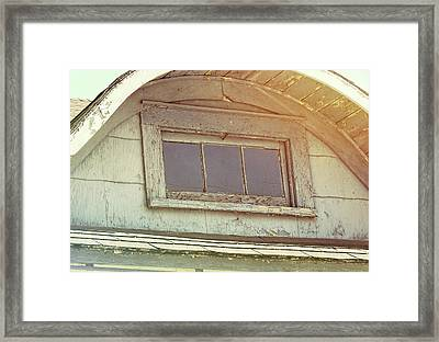 Attic View Framed Print by JAMART Photography