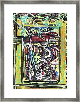 Attic Window Framed Print
