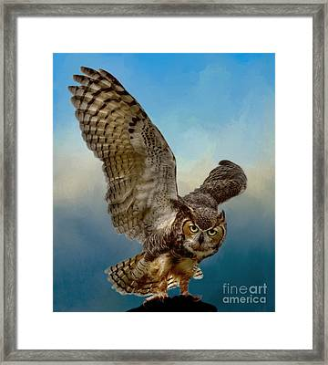 Attitude Is Everything Framed Print