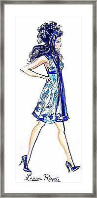 Attitude Framed Print by Laura Rispoli