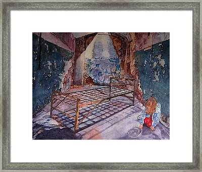 Attitude Framed Print by Valerie Patterson