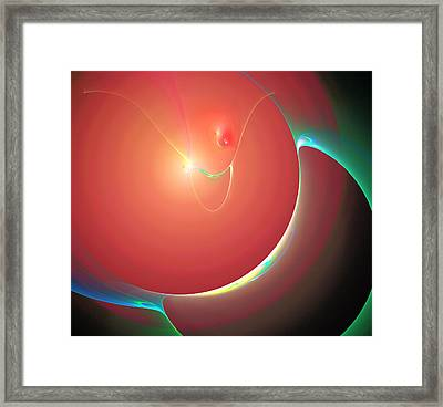 Attraction Framed Print by Carol and Mike Werner