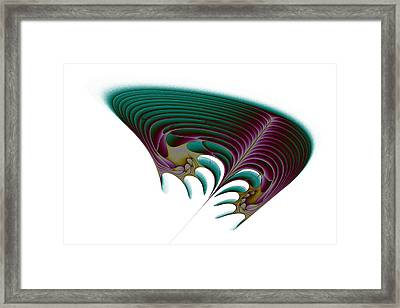 Attractor No. 56 Framed Print by Mark Eggleston