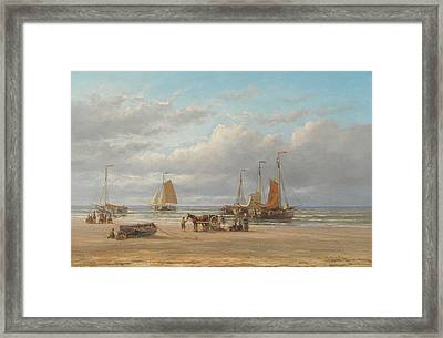 Attributed To Hendrik Hulk Framed Print by MotionAge Designs