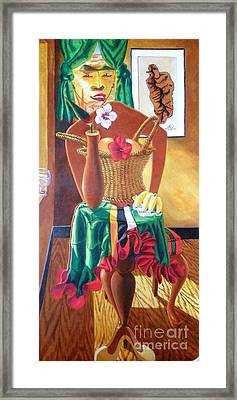 Attributes Of Dominique Kubuli Framed Print