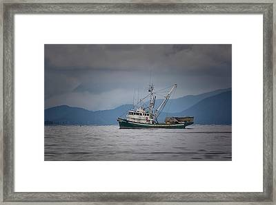 Framed Print featuring the photograph Attu Off Madrona by Randy Hall
