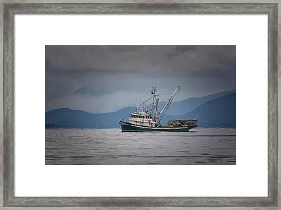 Attu Off Madrona Framed Print by Randy Hall