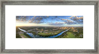 Austin Smile Framed Print