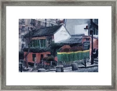 Au Lapin Framed Print