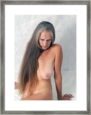 Au Naturel Framed Print by Nancy Taylor