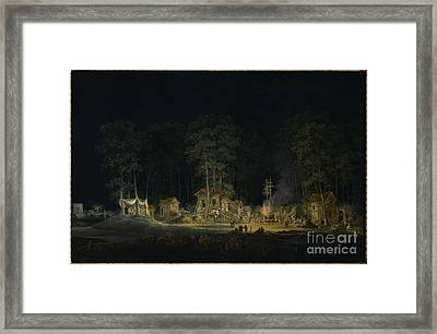 Au Petit Trianon Framed Print by MotionAge Designs
