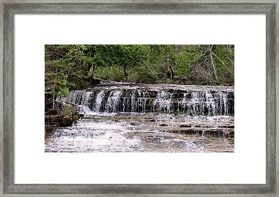 Au Train Falls Framed Print