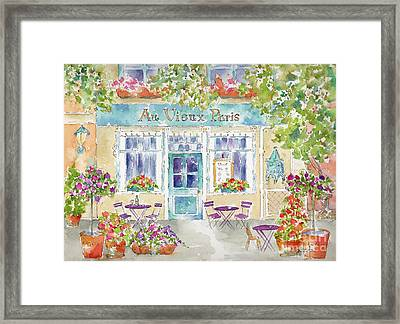 Au Vieux Paris Framed Print