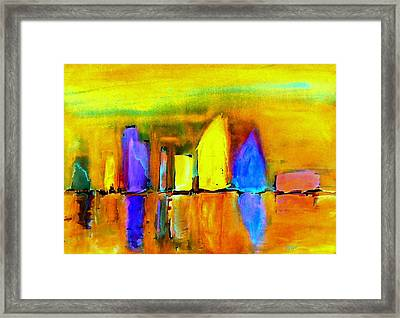 Aubade - To Love-dedicated Framed Print