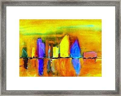 Aubade - To Love Framed Print by VIVA Anderson