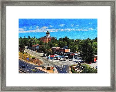 Auburn Ca Framed Print by Patrick Witz