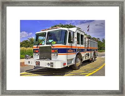 Auburn Fire Department  Framed Print by JC Findley