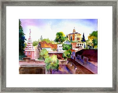 Auburn Old Town Framed Print