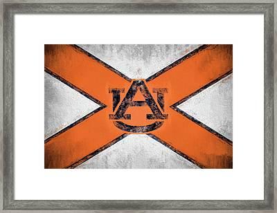 Auburn State Flag Framed Print