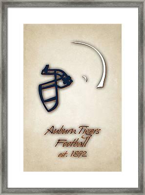 Auburn Tigers Helmet 2 Framed Print by Joe Hamilton