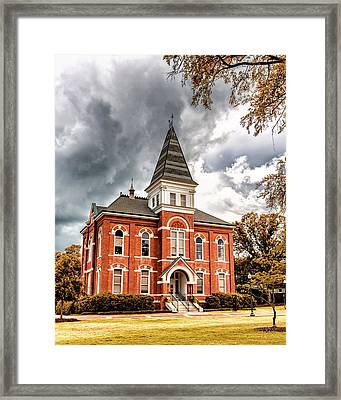 Auburn University - Hargis Hall Framed Print