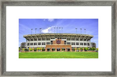 Auburn University Jordan Hare Stadium Framed Print by JC Findley