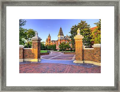 Auburn University Mornings Framed Print by JC Findley
