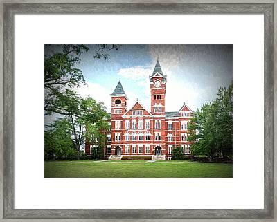 Auburn University Samford Hall - #1 Framed Print