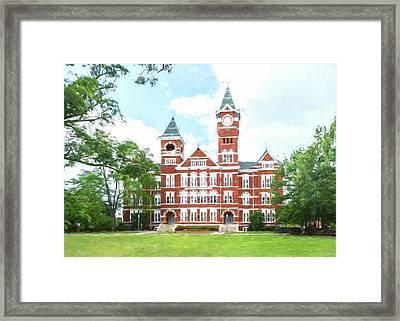 Auburn University Samford Hall - #2 Framed Print