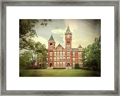 Auburn University Samford Hall - #3 Framed Print