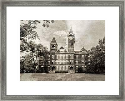 Auburn University Samford Hall - #4 Framed Print