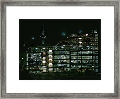 Auckland Nights Framed Print
