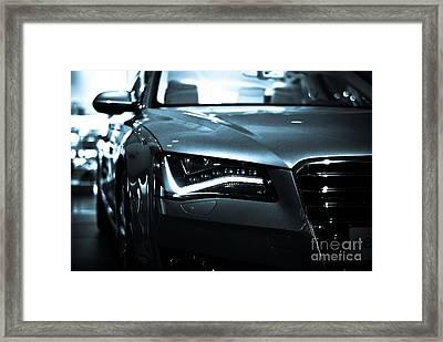 Audi A8 Framed Print