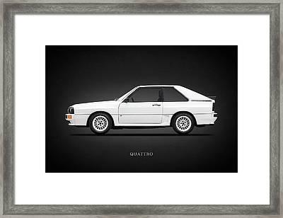 Audi Quattro 1985 Framed Print by Mark Rogan