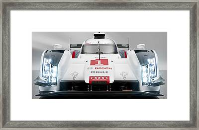 Audi R18 E Tron Framed Print by Stephanie Hamilton