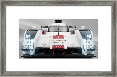 Audi R18 E Tron Framed Print