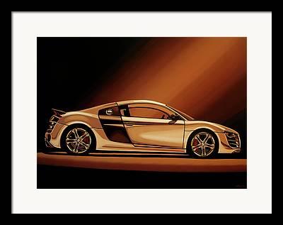 German Race Car Framed Prints