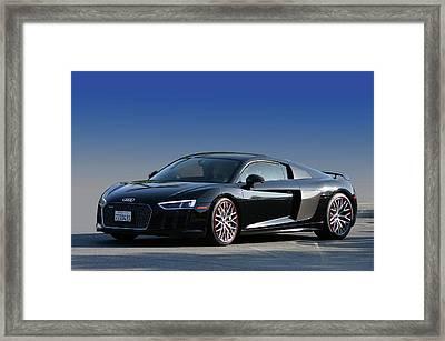 Audi R8 Rocket Framed Print