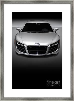 Audi R8 Sports Car Framed Print