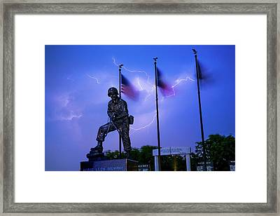 Audie Murphy Framed Print